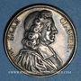 Monnaies Jean Claude, théologien (1619-1687). Médaille argent gravée par Dassier