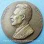 Monnaies Joseph Carrier. Conseiller d'état, professeur. 1932. Médaille en bronze. 59,2 mm