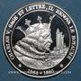 Monnaies L'Histoire de France. Charles V, sage et lettré, il rénova le Royaume (1364-1380). Médaille argent