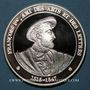 Monnaies L'Histoire de France. François Ier, ami des Arts et des Lettres (1515-1547). Médaille argent