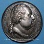 Monnaies La vaccine. 1819. Médaille argent. 40,9 mm. Gravée par Gayrard et Andrieu