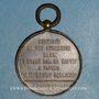 Monnaies Le Ballon Giffard. 1879. Médaille bronze doré