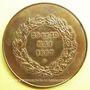 Monnaies Le Puy. 3e Congrès fédéral de gymnastique. 1887. Médaille en bronze. 46,5 mm. Gravée par A. Desaide