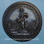 Monnaies Léon X (1513-1521). Libéralité pontificale. Médaille de restitution, bronze