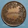 Monnaies Léon XII (1823-1829). Médaille Benemerenti, an II. Médaille bronze