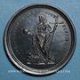 Monnaies Léon XII (1823-1829).  Reconnaissance de l'Hospice Apostolique, 1828. Médaille bronze.