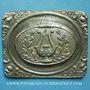 Monnaies Lille. Concours de 1855. Médaille en étain. 57 x 73 mm. N° II