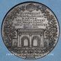 Monnaies Lille. Entrée des troupes allemandes. 12 octobre 1914. Médaille bronze