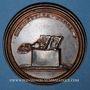 Monnaies Lorraine. Adalbert. Médaille en bronze