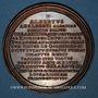 Monnaies Lorraine. Albert. Médaille en bronze