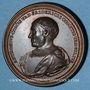 Monnaies Lorraine. Antoine, comte de Vaudémont et Marie d'Harcourt. Médaille en bronze