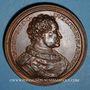 Monnaies Lorraine. Charles II et Marguerite de Bavière. Médaille en bronze