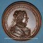 Monnaies Lorraine. Charles III (1545-1608) et Claude de France. Médaille en bronze