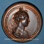 Monnaies Lorraine. Ferry I, comte de Vaudémont et Marguerite de Joinville. Médaille en bronze