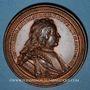 Monnaies Lorraine. Nicolas d'Anjou (1470-1473). Médaille en bronze