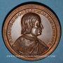 Monnaies Lorraine. René II (1473-1508) et Philippe de Gueldre. Médaille en bronze