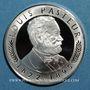 Monnaies Louis Pasteur. Centennaire de sa mort, 1995. Médaille argent. 34 mm.