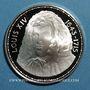 Monnaies Louis XIV (1643-1715). Médaille argent. 38,5 mm.