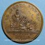 Monnaies Louis XIV. Bataille de Friedlingen. Médaille bronze 1702