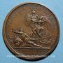 Monnaies Louis XIV. Bataille de la Marsaille. Médaille bronze 1693