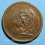 Monnaies Louis XIV. Bataille de Seneffe. Médaille bronze 1674