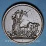 Monnaies Louis XIV. Campagne d'Allemagne. 1678. Médaille cuivre