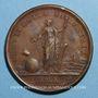 Monnaies Louis XIV. Edit contre le luxe. Médaille bronze 1700