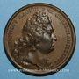 Monnaies Louis XIV. La France toujours victorieuse. Médaille bronze 1697