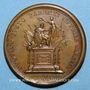 Monnaies Louis XIV. Mort de Louis XIII. Médaille bronze 1643