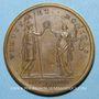 Monnaies Louis XIV. Paix de Ryswick. Médaille bronze 1678