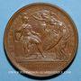 Monnaies Louis XIV. Prise d'Ypres. Médaille bronze 1744