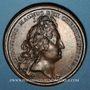 Monnaies Louis XIV. Prise de Brisach. 1703. Médaille cuivre. 41,3 mm