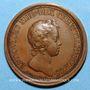 Monnaies Louis XIV. Prise de Phillipsbourg. Médaille bronze 1644
