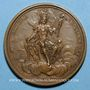 Monnaies Louis XV. Régiment de la Calotte. Médaille bronze