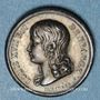 Monnaies Louis XVII. 1785-1795. Médaille de souvenir. Argent. Gravée par F. Depaulis