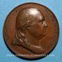 Monnaies Louis XVIII. Charte Constitutionnelle. Médaille bronze, 1814