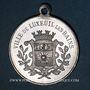 Monnaies Luxeuil-les-Bains (Franche-Comté, Haute-Saône). Festival-concours 1912. Médaille en aluminium