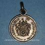 Monnaies Lyon. Chevalerie du Buisson (fondée en 1843). Médaille argent