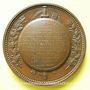 Monnaies Lyon. Comte de Castellane. 1851. Médaille en bronze. 62 mm. Gravée par Bonnet