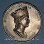 Monnaies Lyon. Conseil municipal. Médaille argent