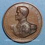 Monnaies Lyon. Société protectrice des animaux (fondée en 1854). Médaille cuivre
