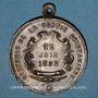 Monnaies Lyon. Souvenir de la sortie de la société Les Guillemochains 12 juin 1898. Médaille en bronze