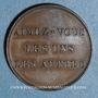 Monnaies Médaille de piété en cuivre
