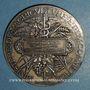 Monnaies Ministère de l'Agriculture et du Commerce. Serviteurs ruraux. 1880. Médaille argent. 50,6 mm