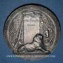Monnaies Ministère de la Guerre. Entrainement physique, préparation militaire. Médaille en argent. 49,4 mm