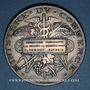 Monnaies Ministère du Commerce. Commission permanente des valeurs de douanes. 1890. Médaille argent