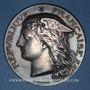Monnaies Ministère du Commerce. Commission permanente des valeurs de douanes. 1896. Médaille argent