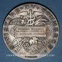Monnaies Ministère du Commerce. Commission permanente des valeurs de douanes. 1898. Médaille argent