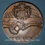 Monnaies Monaco. Principauté. 1943. Médaille bronze. 68 mm