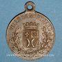 Monnaies Montbard (Bourgogne). Souvenir du centenaire de la mort de Buffon. 1888. Médaille en laiton